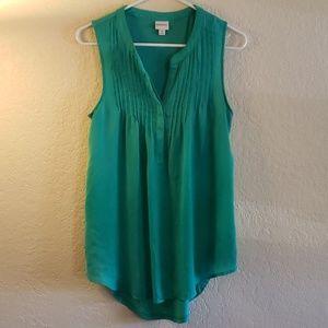 Turquoise Merona Sleeveless Top (Tank Top)